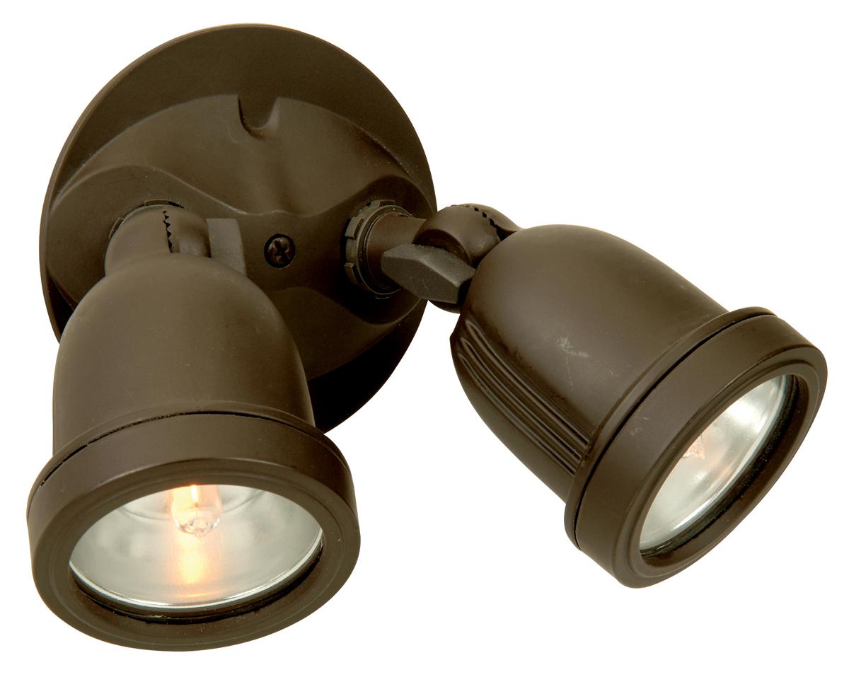 Outdoor motion light fixtures motion 2 light 180deg bronze arubaitofo Choice Image