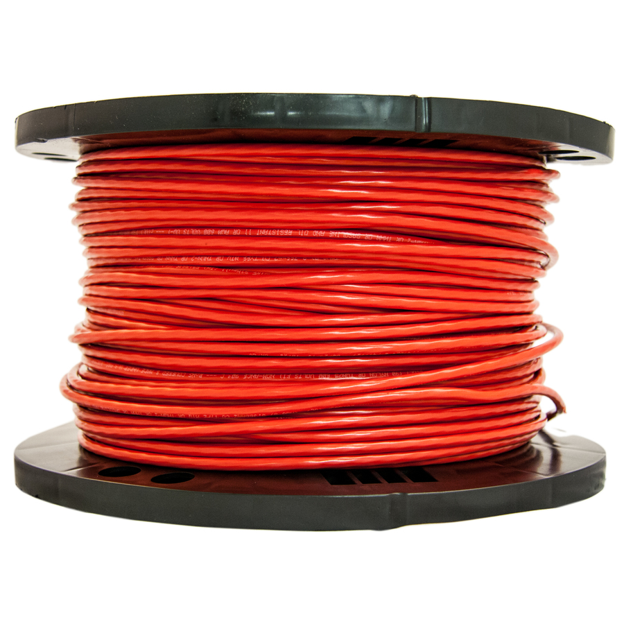 WIRE #14 STRANDED RED THHN *FT*