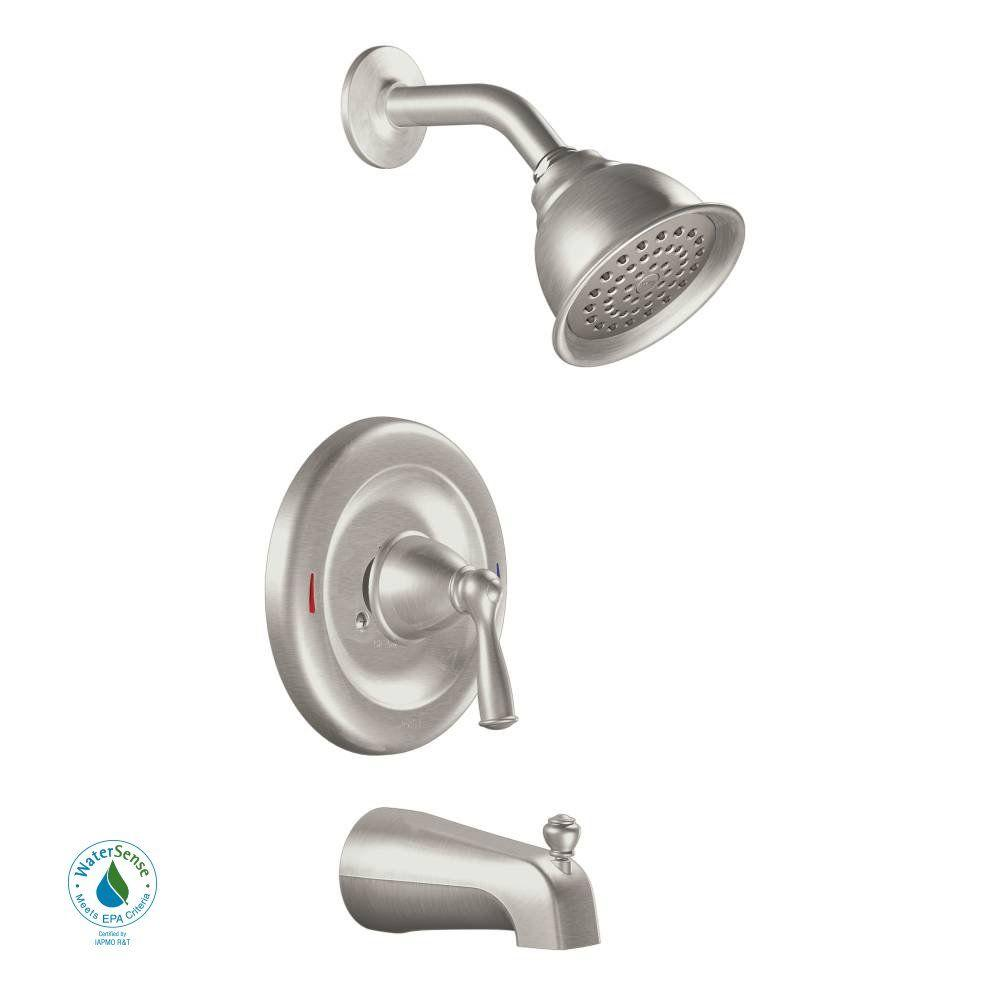 Bath And Shower Faucets moen tub & shower faucets
