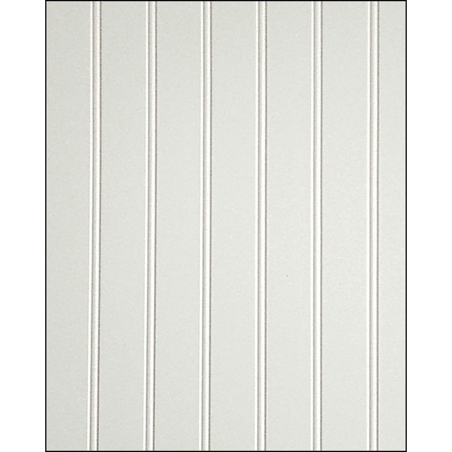 32 Sq Ft Beadboard White Vgroove Panel 109693 At The Home